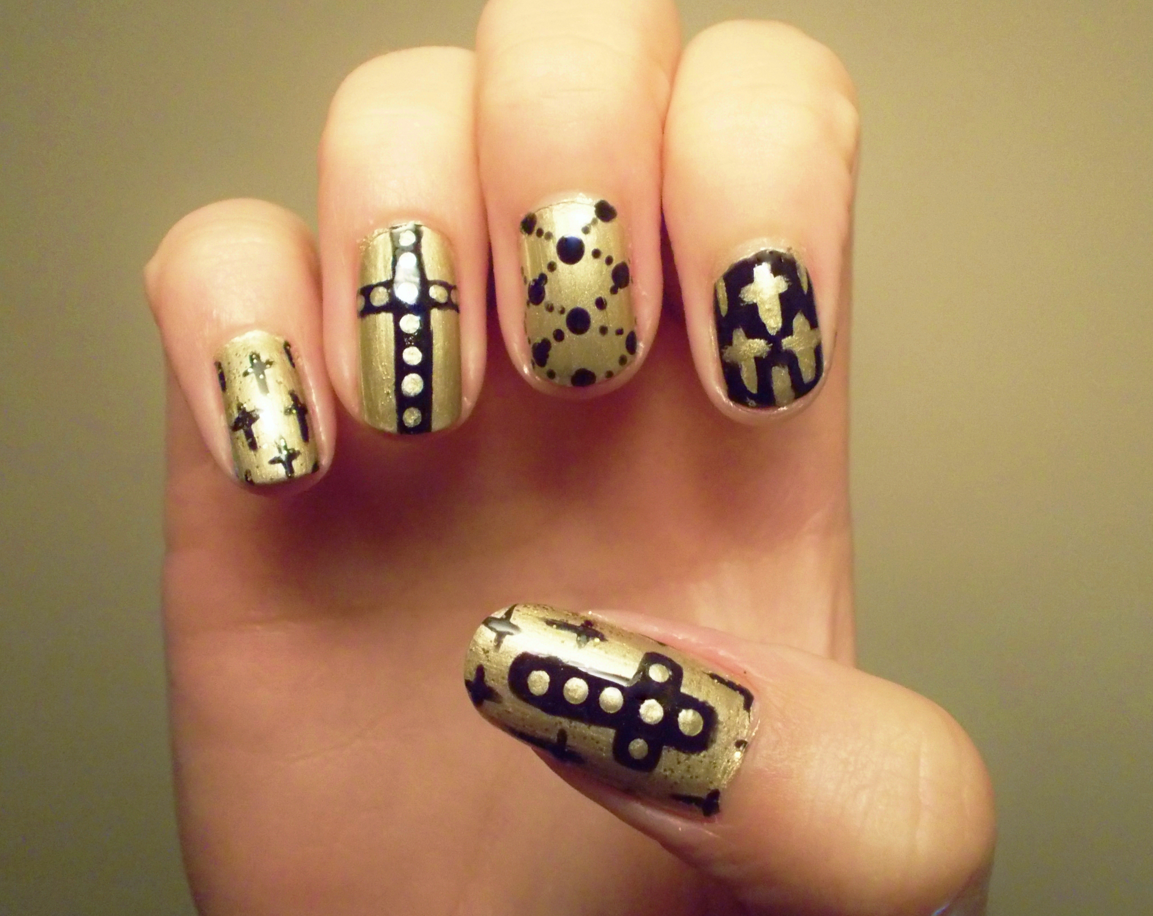 Nails Designs Cross