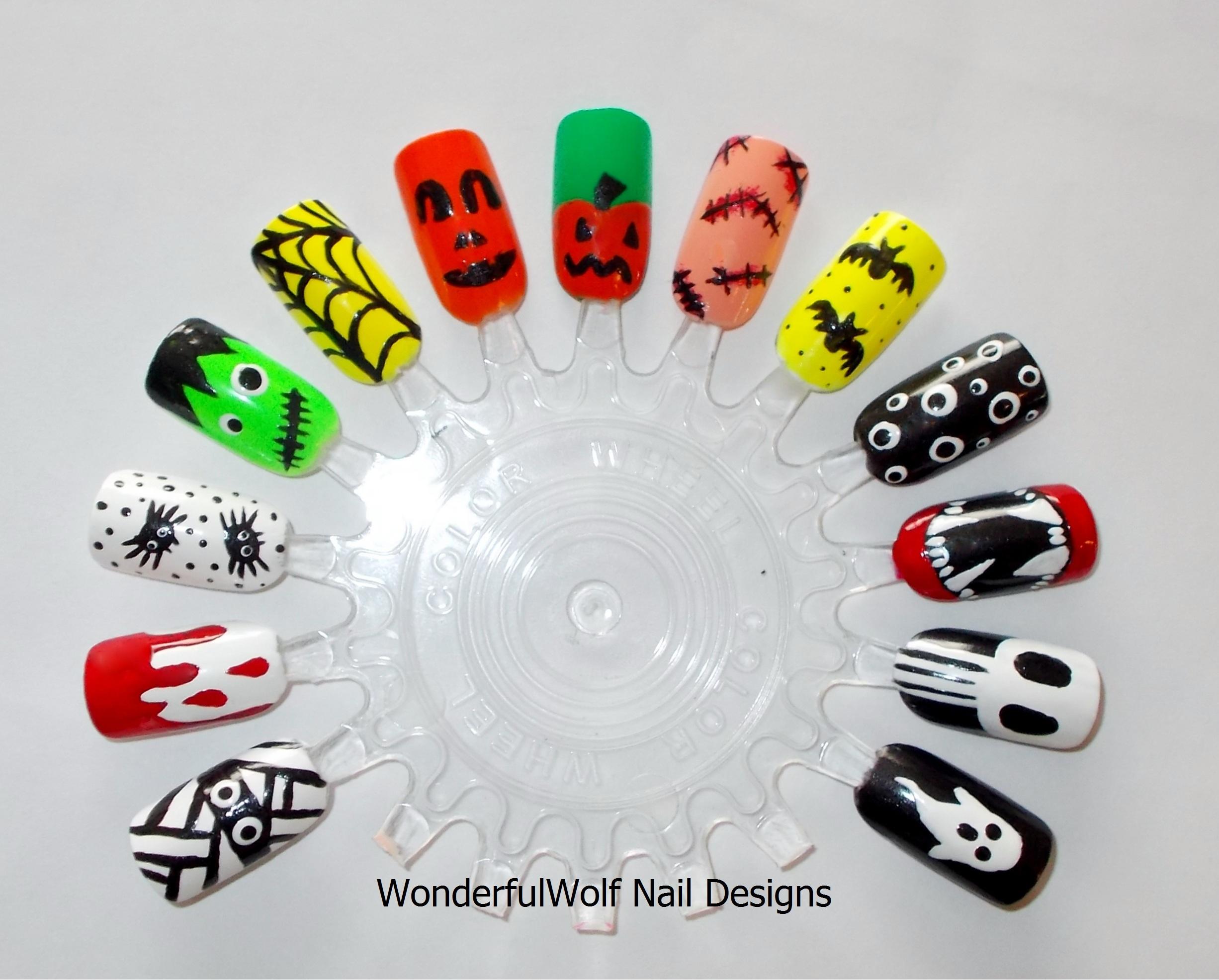 Skull Nail Art – WonderfulWolf