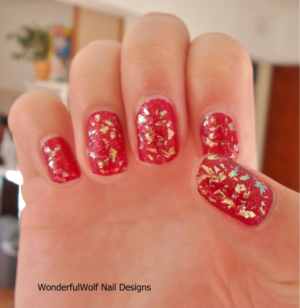 Models Own 'Snowflake' on red
