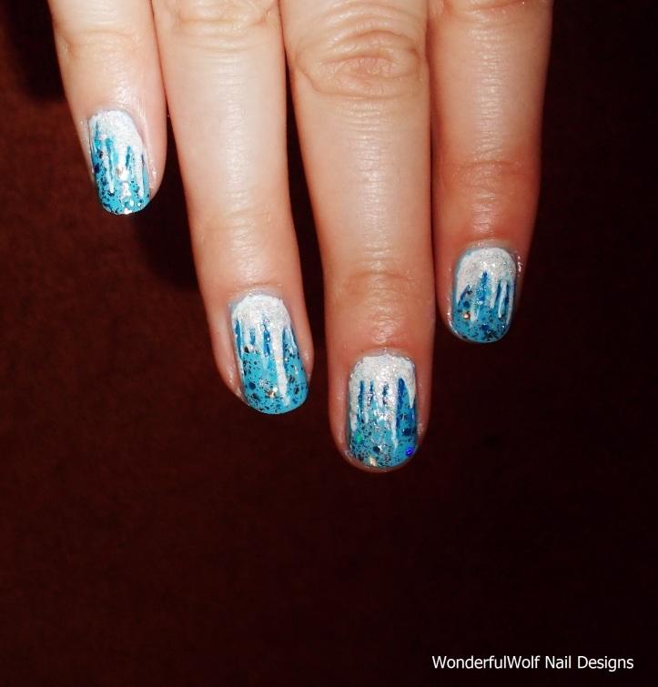 Icicle Nail Art