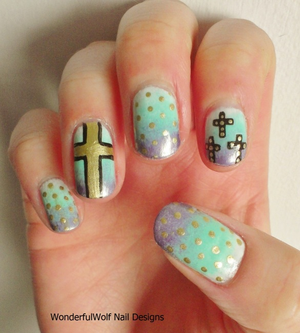 Festival Cross Nail Art