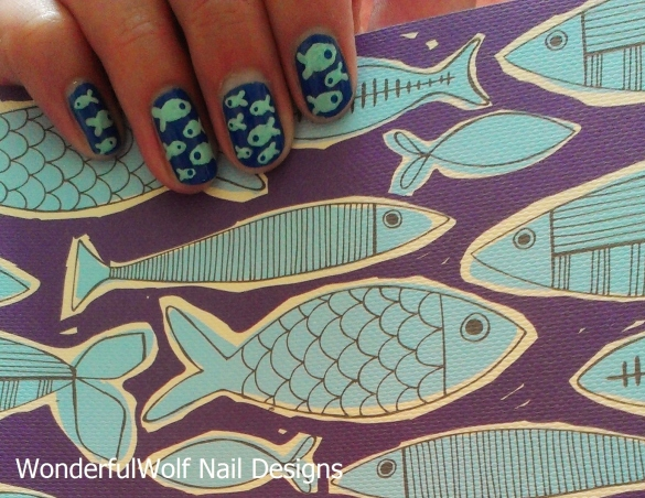 Shoal Nail Art