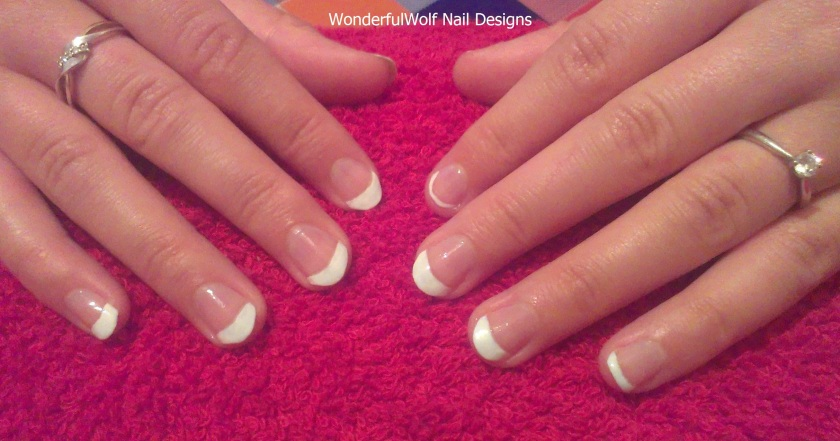 French Tip Nail Art