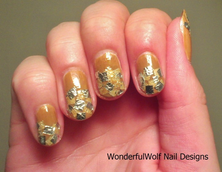 Long Island Iced Tea Nail Art