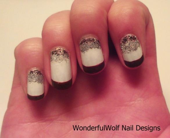White Russian Nail Art