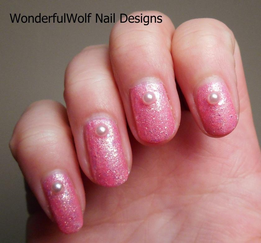 Pink Lady Nail Art