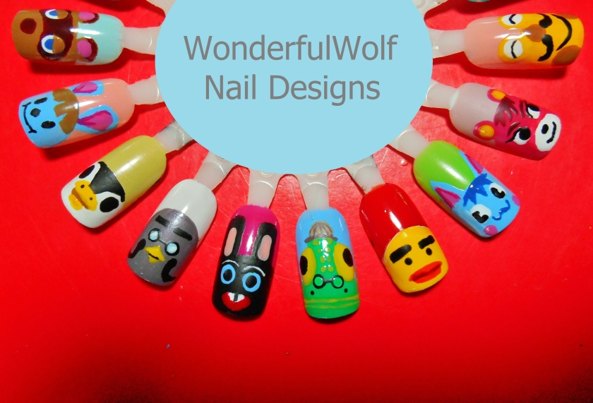 Animal Crossing Nail Art 2