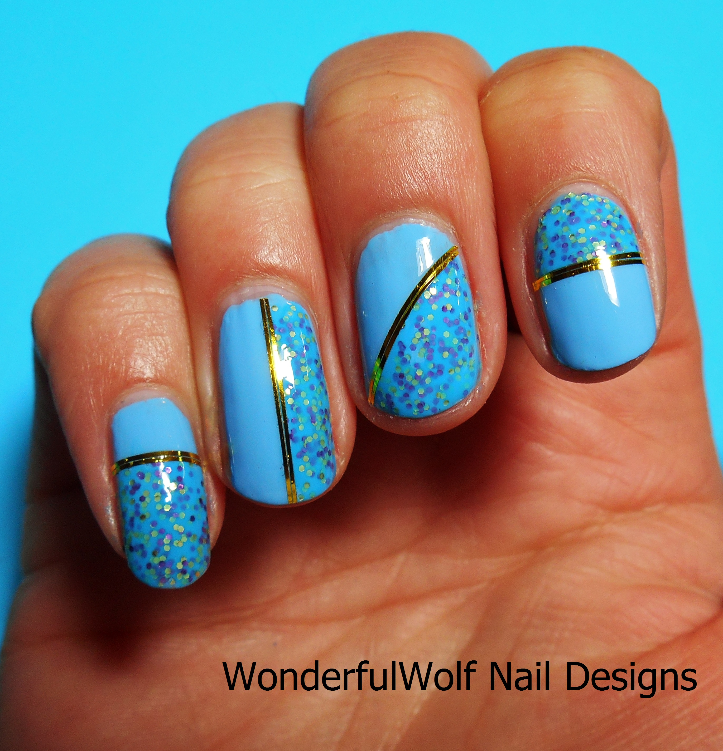 Outstanding Nails Designs With Tape Photo - Nail Art Design Ideas ...