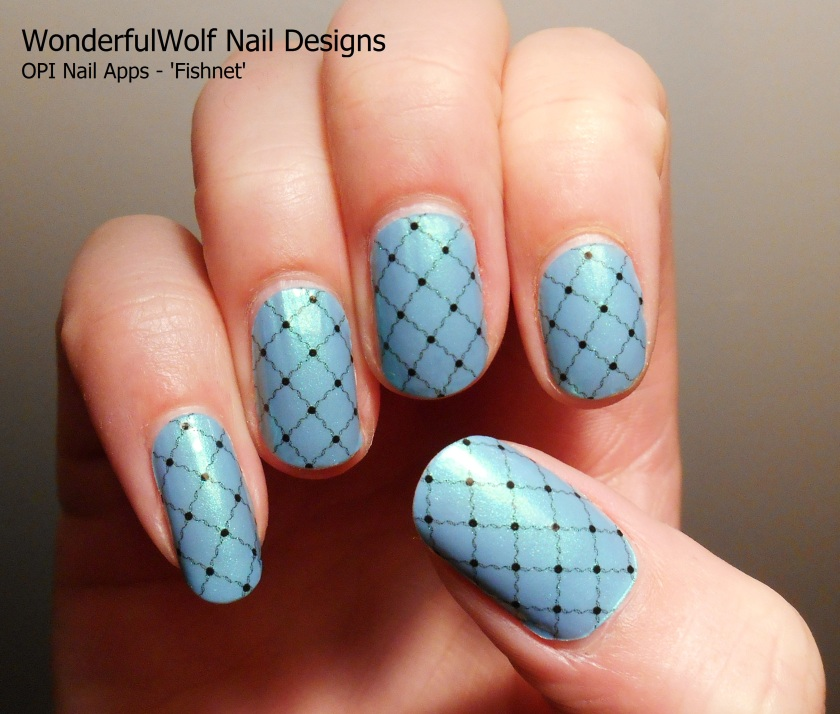 OPI Nail Apps fishnet