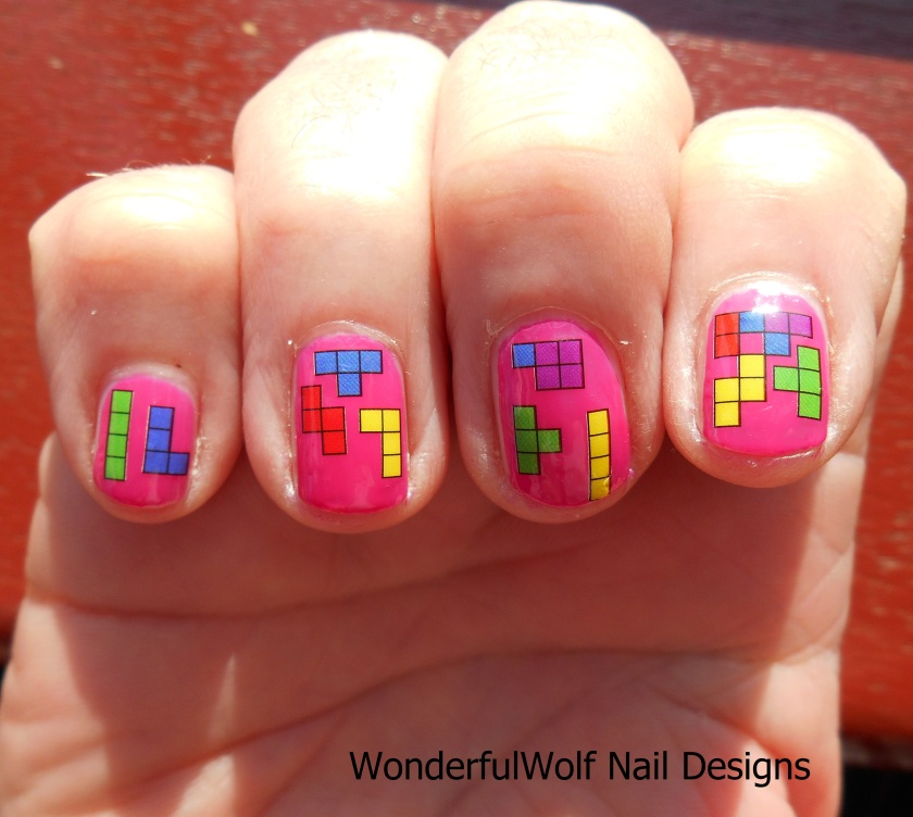 Tetris Water Decals