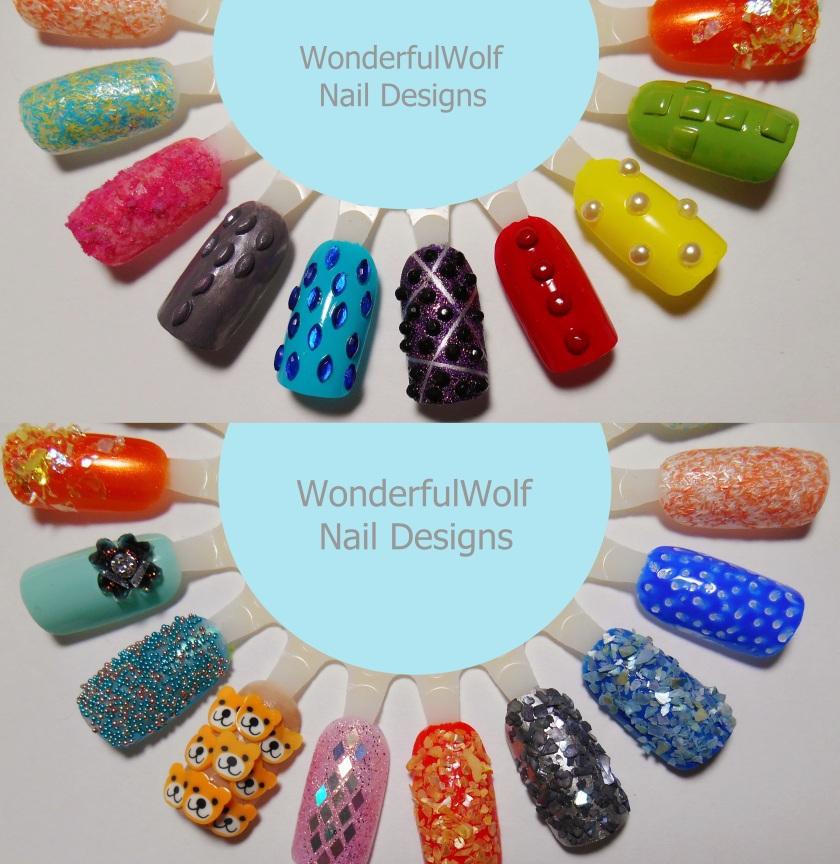 Textures nail wheel