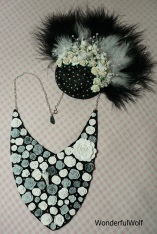 Fascinator and Necklace