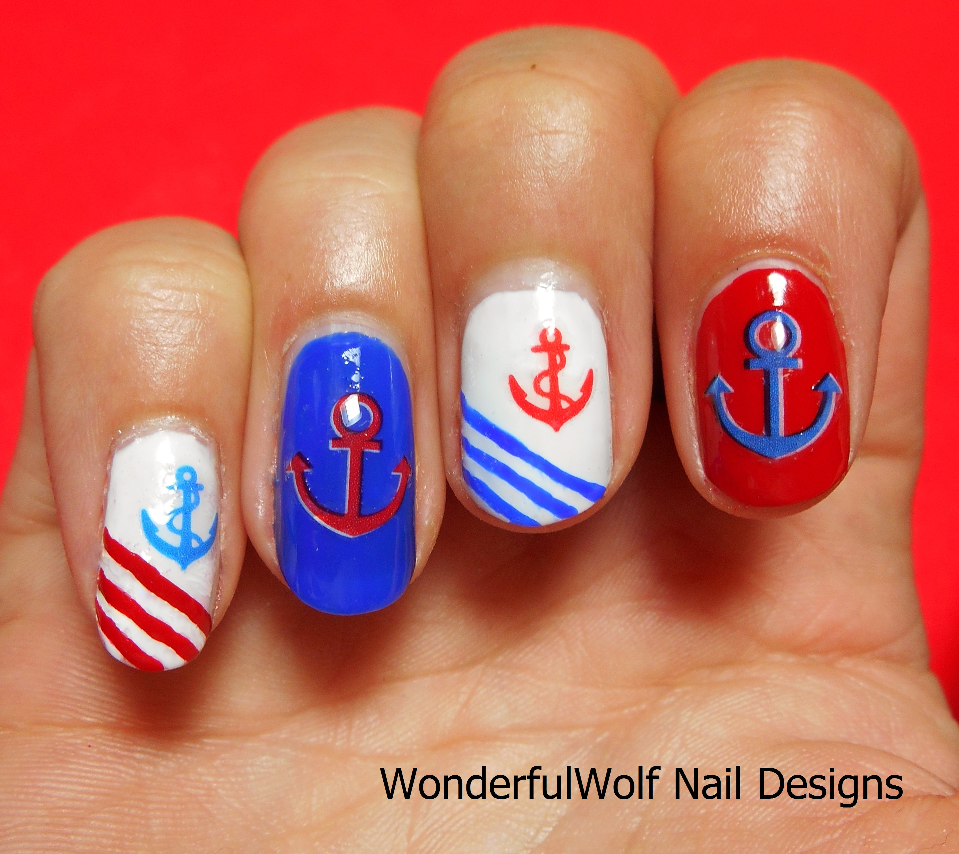 Anchor nails wonderfulwolf for Avon nail decoration tool