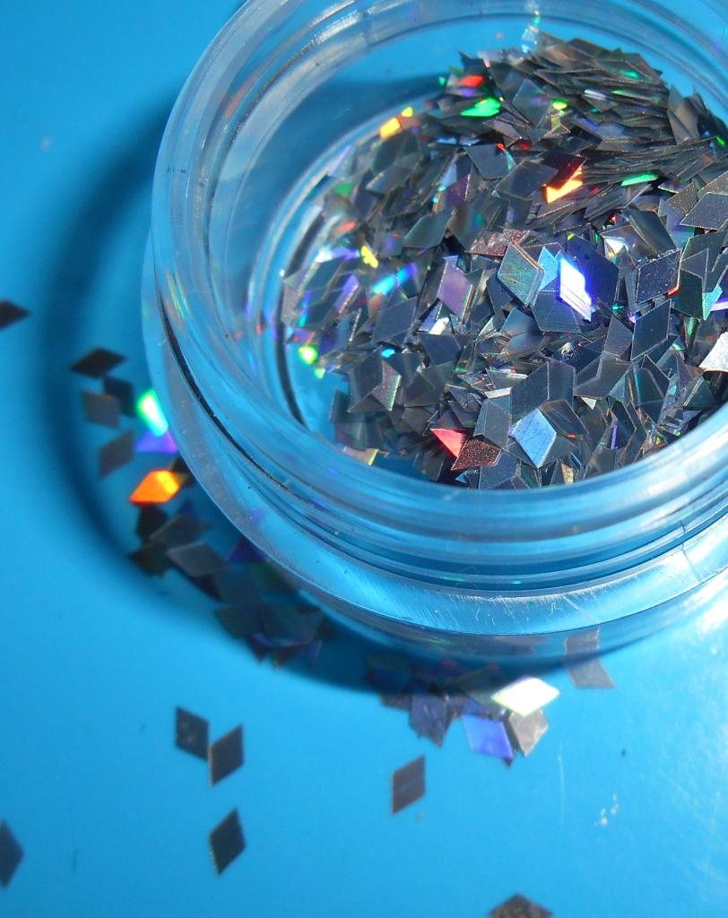 Diamond Shaped Glitter