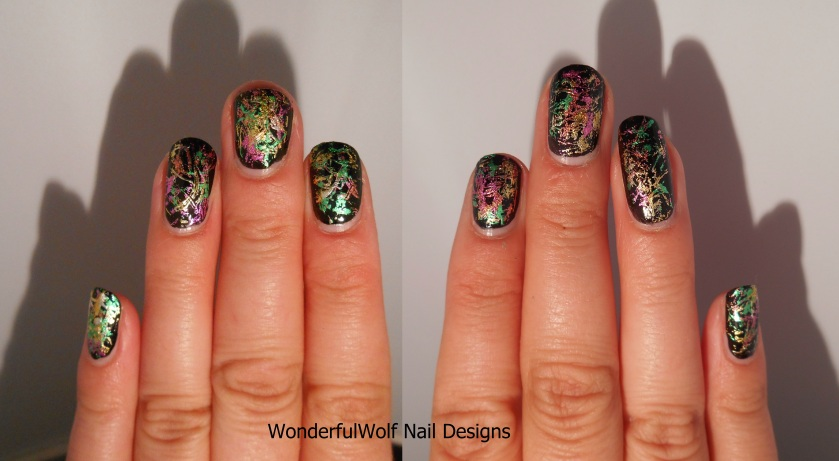 Left and Right hand foiled
