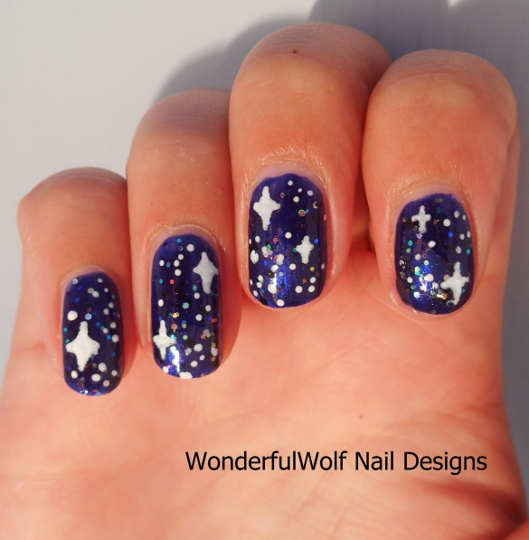 Nail Art Night: Night Sky Nail Art