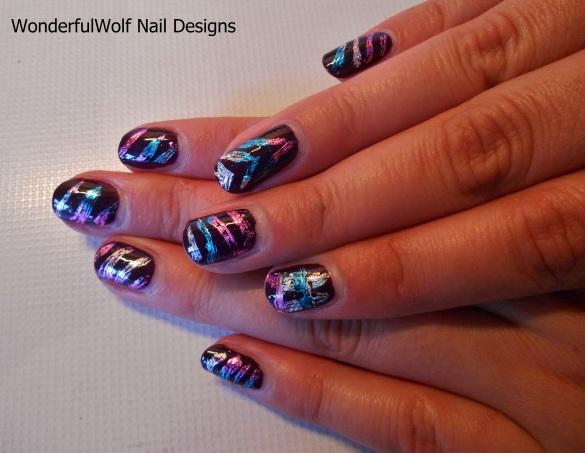 Mums Nail Foil Nail Art