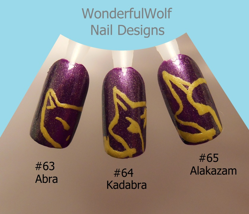 Abra, Kadabra, Alakazam Nail Art