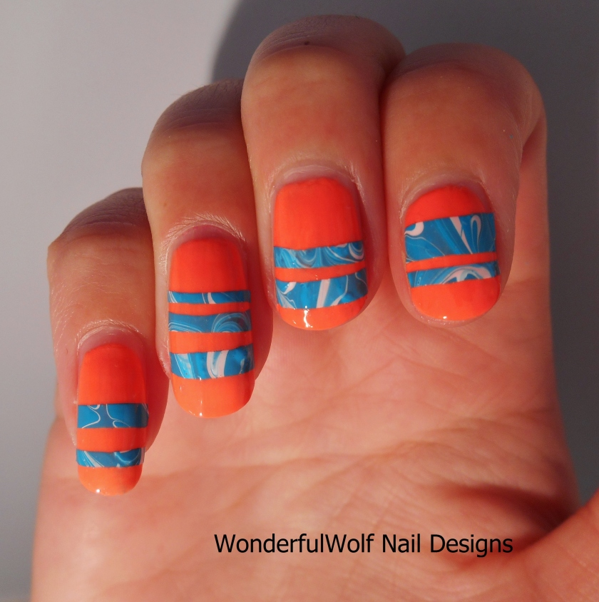 Applied Water Marble Decal