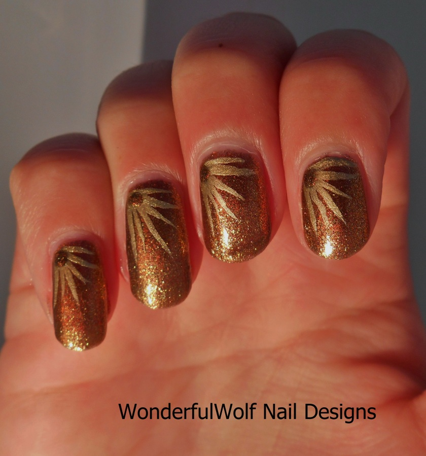 Autumnal Nail Art