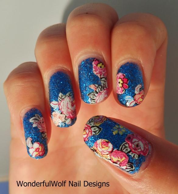 Glitter Rose Garden