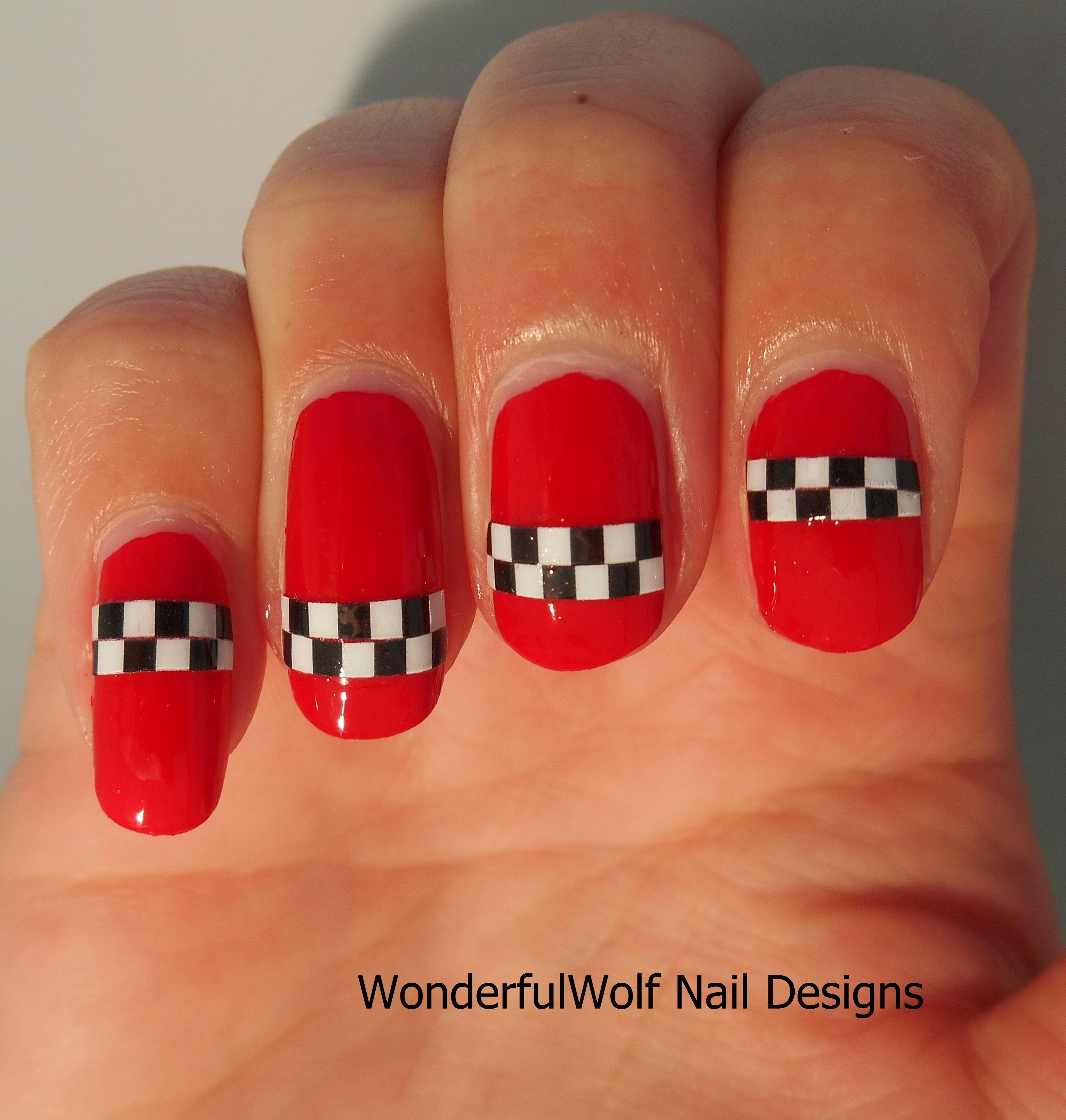 Racing Red Ska Wonderfulwolf