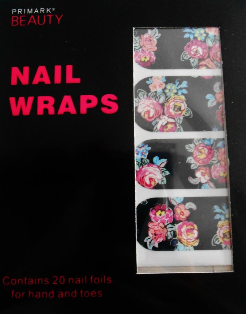 Rose Nail Wraps
