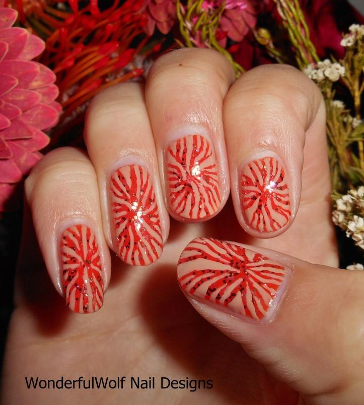 Autumn Roots Nail Art