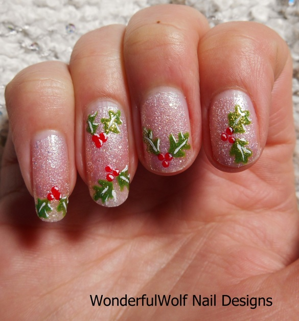 Holly Nail Art