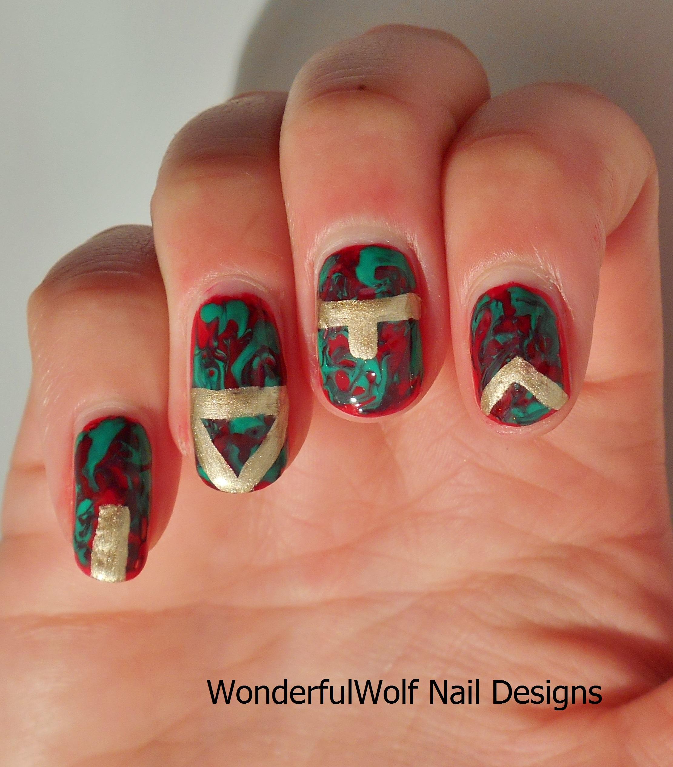 No Mess Marble Nails – WonderfulWolf