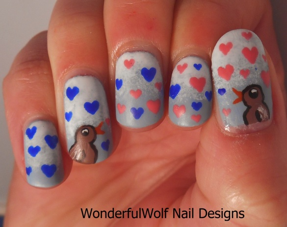Bird Song Nail Art
