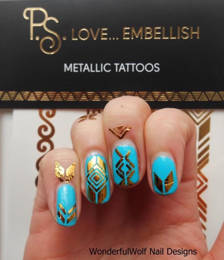 Primark Metallic Tattoos