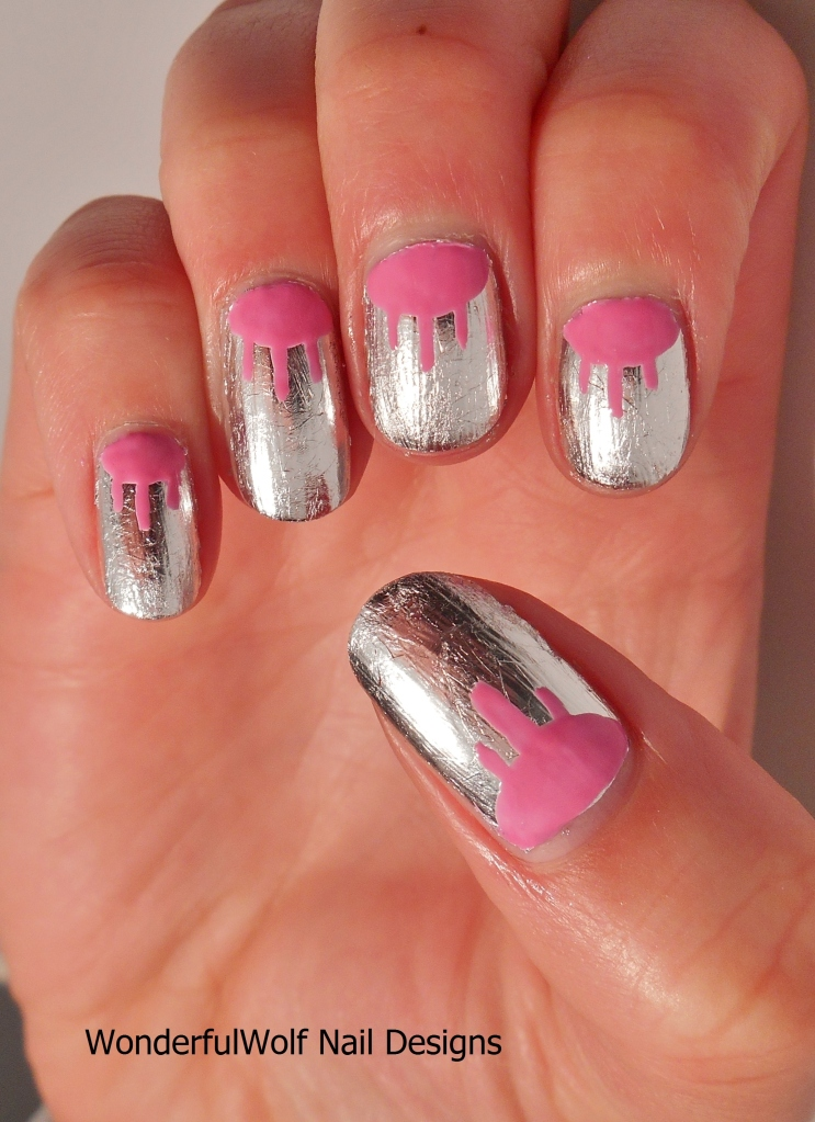 'Candy Floss' with Silver Foil