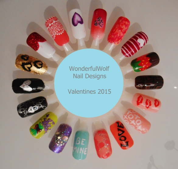 Valentines Nail Wheel 2015
