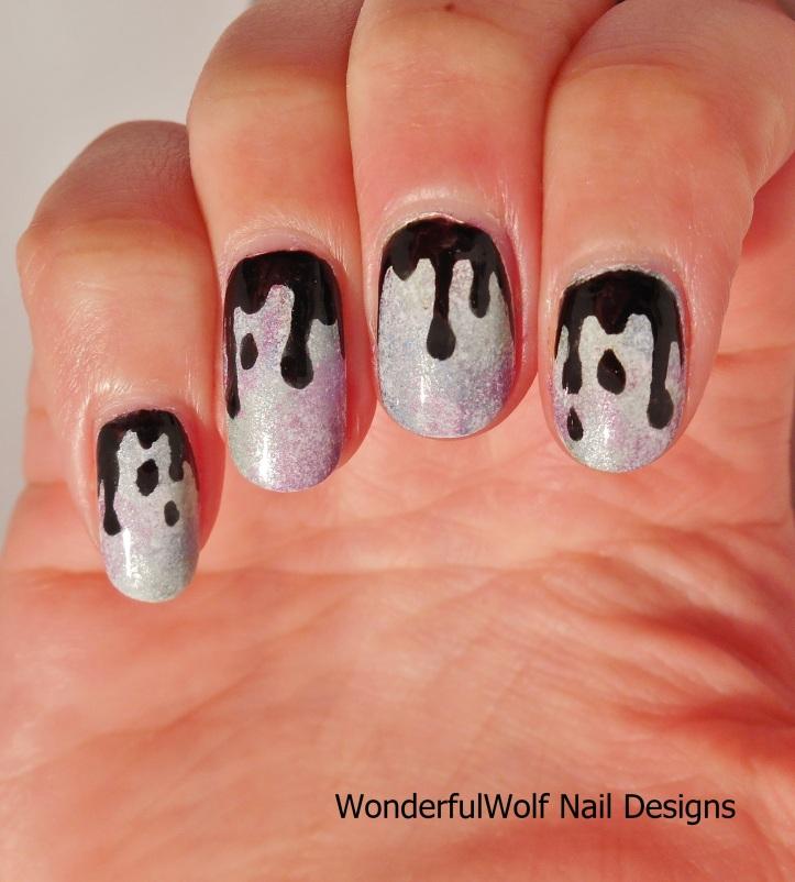Dripping Nail Art