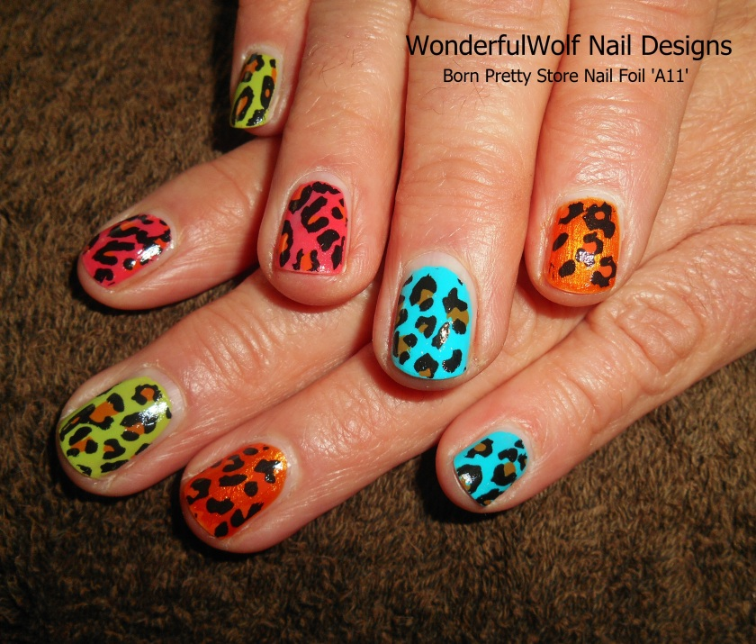 BornPrettyStore Nail Foil on Multi-Colours.