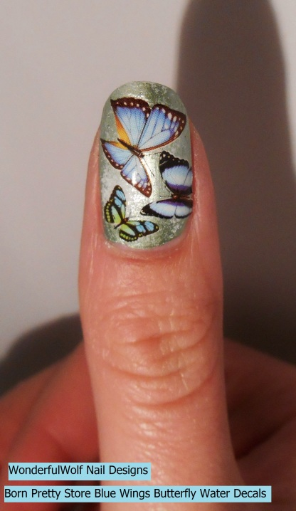 This is my favourite, as it has so many butterflies on it!