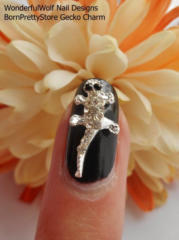 Gecko on Finger