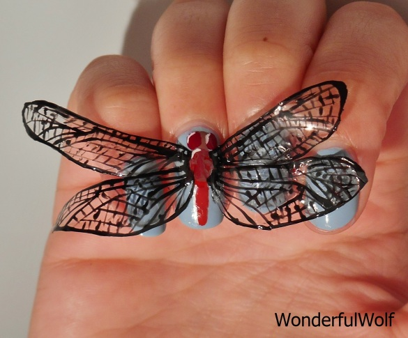 Dragonfly NailArt