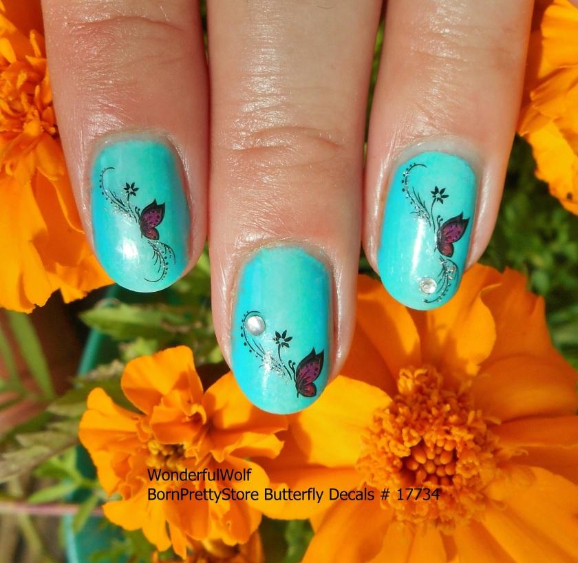 ButterfliesandMarigolds