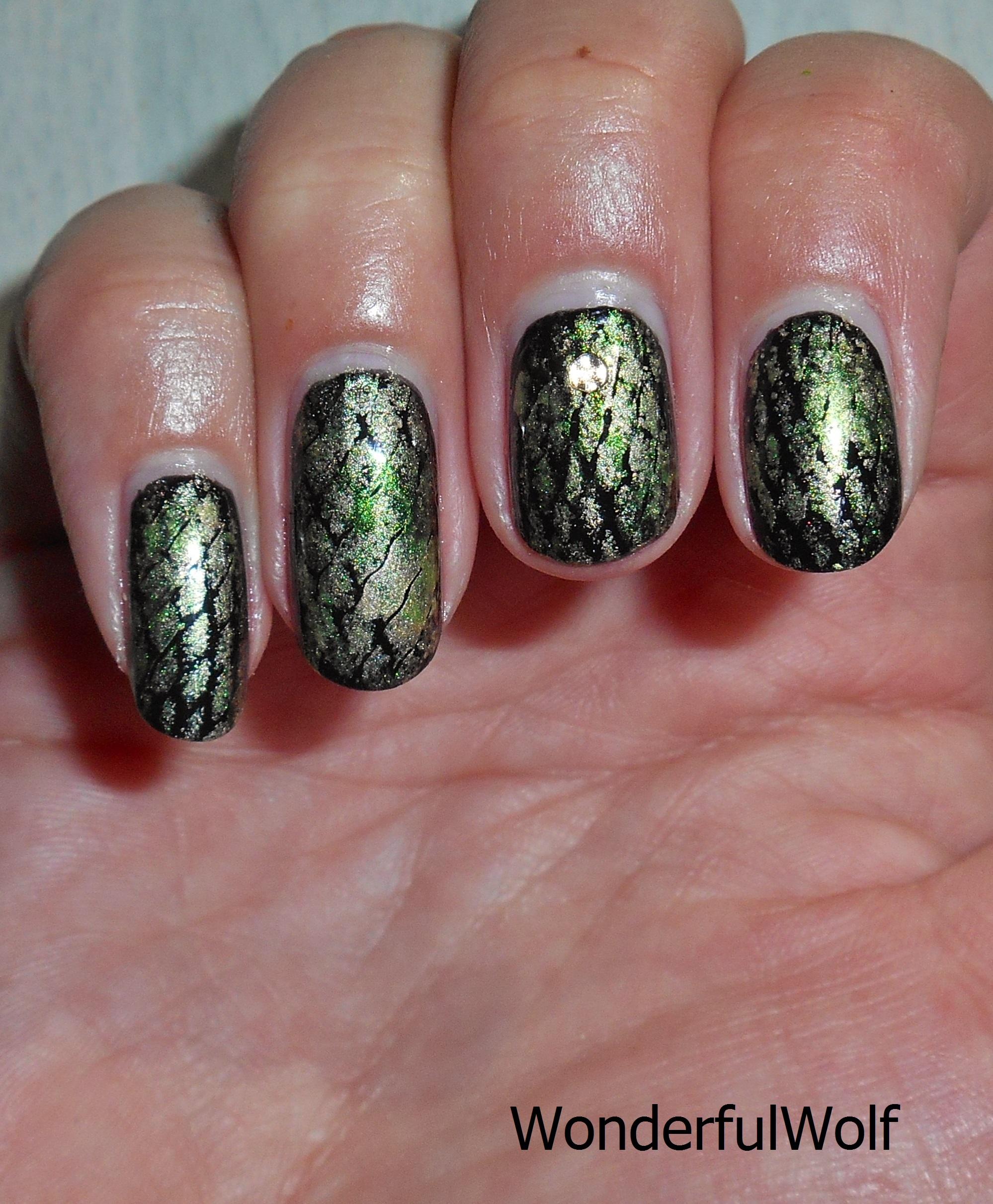 Snake Nail Art Wonderfulwolf