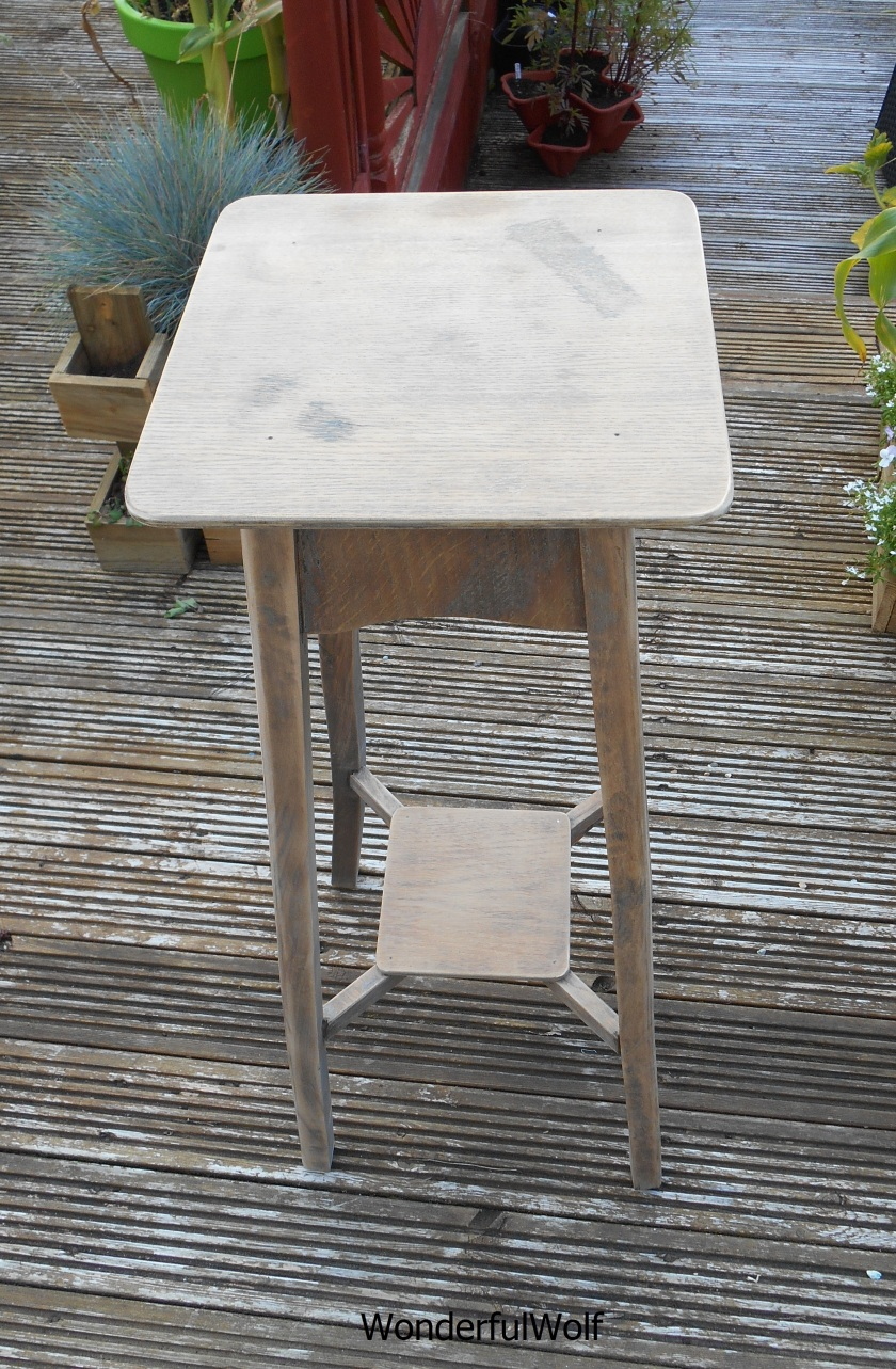 2 Table Sanded