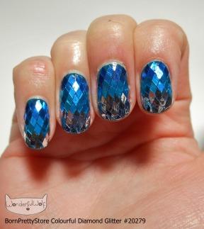 DiamondGlitterGradientBlue