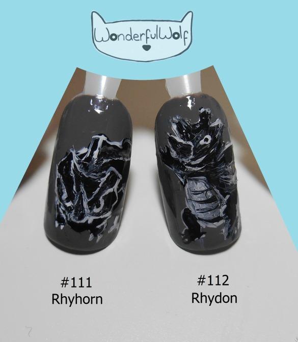 111 112 Rhyhorn Rhydon