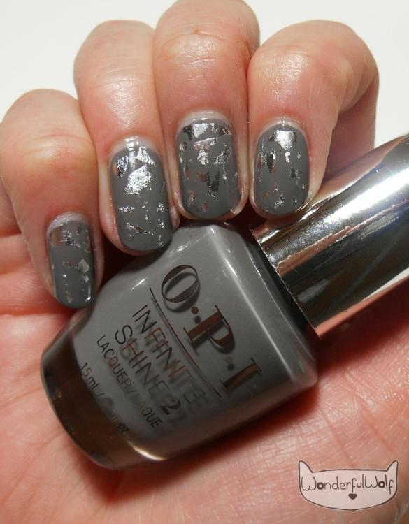 OPI Inifinte Shine Silver Foil