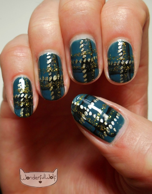 Plaid, Tartan Nail Art