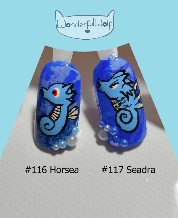 116 117 Horsea Seadra