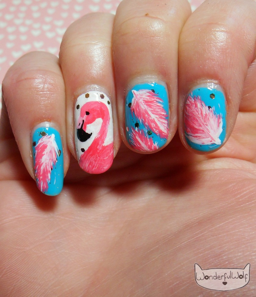 FlamingoNailArt