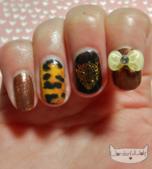 Leopard Nail Art LuckyBag