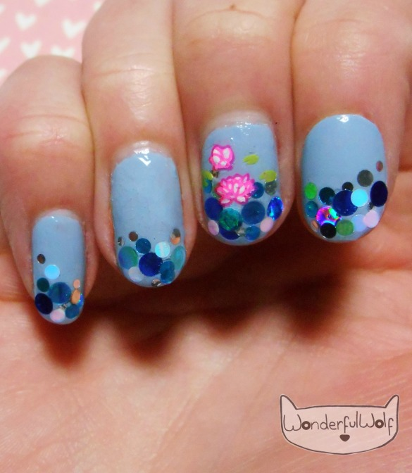Lilly Pond Nail Art
